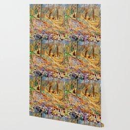 Edvard Munch - Elm Forest in Spring Wallpaper
