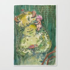 My Forest Friend Canvas Print