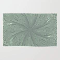 Lost in the Laurels Fractal Bloom Rug
