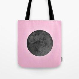 BLACK MOON + PINK SKY Tote Bag