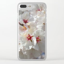 """""""White spring"""". Clear iPhone Case"""