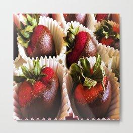 Exposed Berries Metal Print