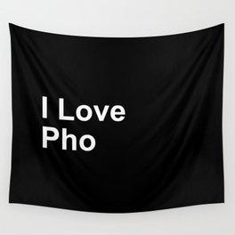 I Love Pho Wall Tapestry