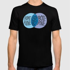 Home Abourne SMALL Black Mens Fitted Tee
