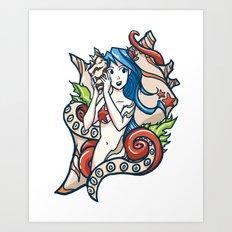 Ocean Sounds Art Print