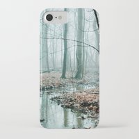 woods iPhone & iPod Cases featuring Gather up Your Dreams by Olivia Joy StClaire
