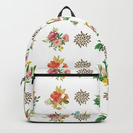 Pretty Floral Boutiques of Flowers Backpack