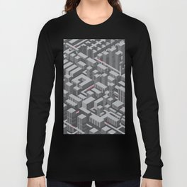 Brutalist Utopia Long Sleeve T-shirt