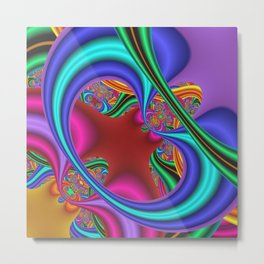 fussily -2- Metal Print