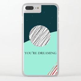 Stay Woke Clear iPhone Case