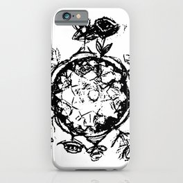 Little Prince small planet iPhone Case