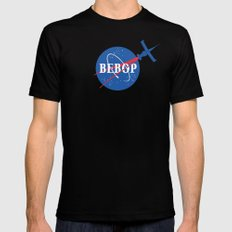 Bebop Nasa Black X-LARGE Mens Fitted Tee