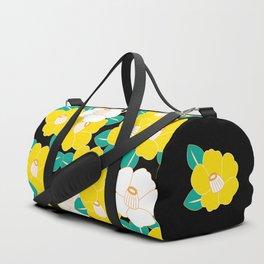Shades of Tsubaki - Yellow & Black Duffle Bag