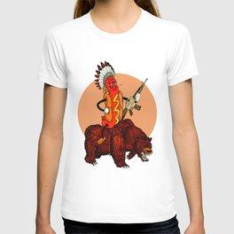 bad ass hotdog T-shirt