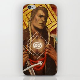 Alistair Theirin Cancer Zodiac Card Dragon Age iPhone Skin