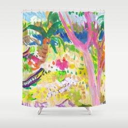 Tangalle Beachside Shower Curtain