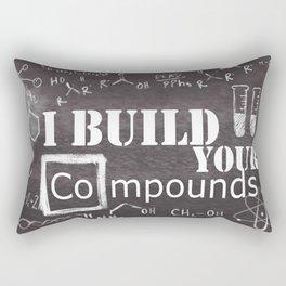 Chemistry Geekery Rectangular Pillow