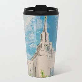 Kyiv Ukraine LDS Temple Travel Mug