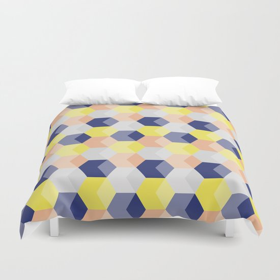 LittleCubes,  Duvet Cover