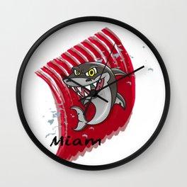 Requin mangeur Wall Clock