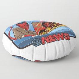 BREAKING NEWS Floor Pillow