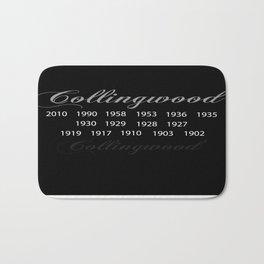 Collingwood Premierships Bath Mat