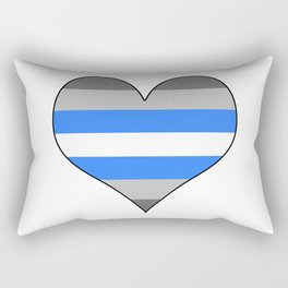 Demiboy Heart Rectangular Pillow
