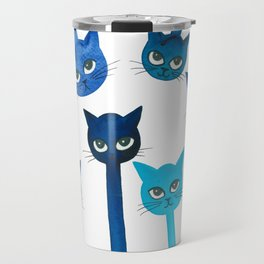 Cheyenne Whimsical Cats Travel Mug