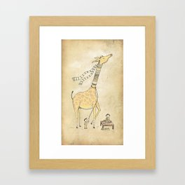 Good day for business Framed Art Print