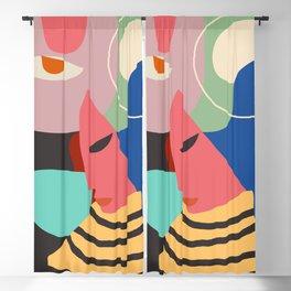 Modern Abstract Art 52 Blackout Curtain