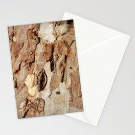 Eucalyptus Tree Bark Texture Abstract Stationery Cards