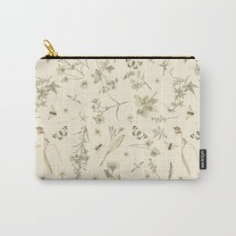 FLORA AND FAUNA OF THE MEADOW  Carry-All Pouch