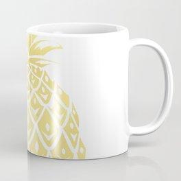 Gold foil look pineapple Coffee Mug
