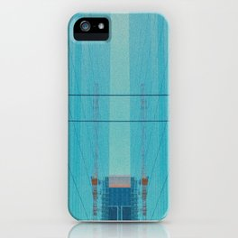 Glassy Buildings of San Francisco iPhone Case