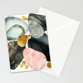 Pebble Abstract Stationery Cards