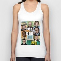 gta Tank Tops featuring Breaking Bad GTA HD  by Akyanyme