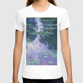 12,000pixel-500dpi - Claude Monet - Water Lilies 1907 - Digital Remastered Edition T-shirt