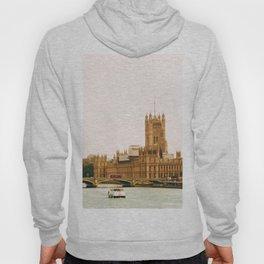 Sepia London England Cityscape (Color) Hoody