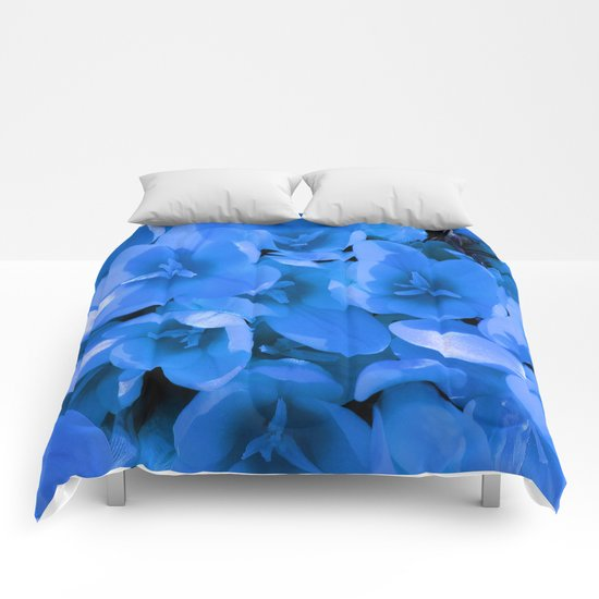Blue Summer Comforters