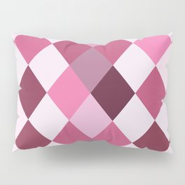 Pink Roses in Anzures 2 Harlequin 1 Pillow Sham