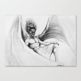 Satyr Canvas Print