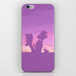 Lavender Joshua Sunset - Pop_Art iPhone Skin