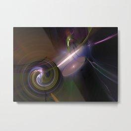 Fractal 38 Multi Color Metal Print