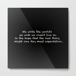 Worlds Metal Print