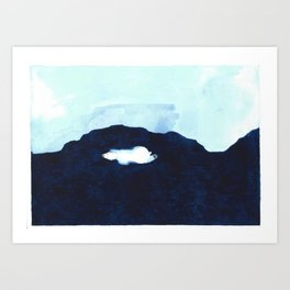 Polar Bear freedom Art Print