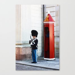 The tin soldier Canvas Print