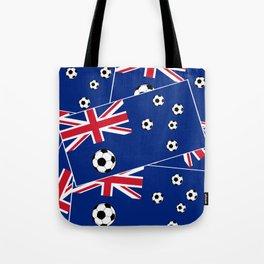 Australian Flag Football Tote Bag