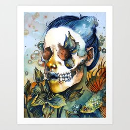Queen of SHE Art Print