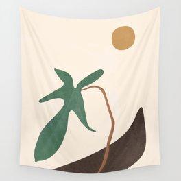 Minimal New Leaf Wall Tapestry