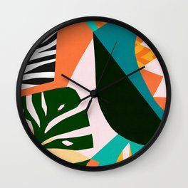 Abstract and geometric 18 Wall Clock